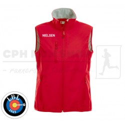 Clique Basic Softshell Vest Women, red - Lyngby Bueskyttelaug