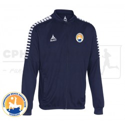 Select Argentina Zip Jakke, navy - Cph Beach Soccer Club