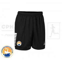 Select Italy Player Shorts, black - Cph Beach Soccer Club