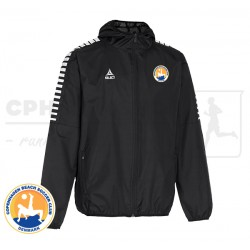 Select Argentina All-Weather Jacket, black - Cph Beach Soccer Club