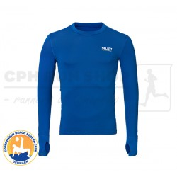 Select 6902 Kompressions T-shirt, blue - Cph Beach Soccer Club