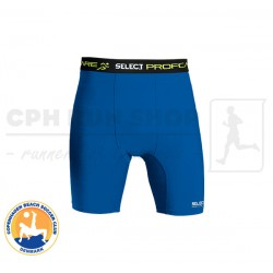 Select 6402 Kompressions Shorts, blue - Cph Beach Soccer Club