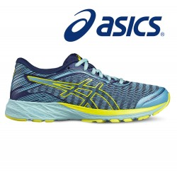 Asics DynaFlyte Woman, aquarium/sun/indigo blue