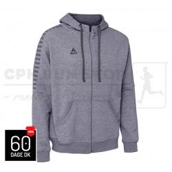 Zip Hoodie Torino Grey Melange - 60dage