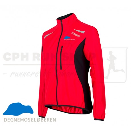 Fusion S1 Run Jacket Women, red - DegnemoseLøberen