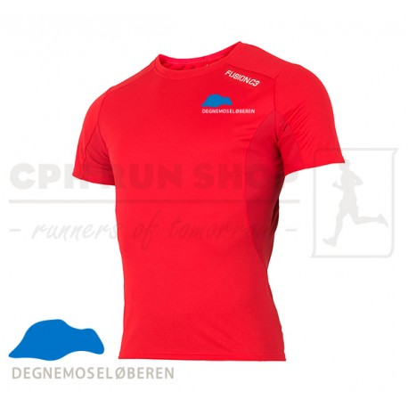 Fusion C3 T-shirt Men, red - DegnemoseLøberen