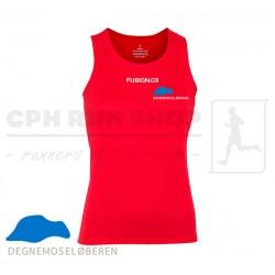Fusion C3 Singlet Women, red - DegnemoseLøberen