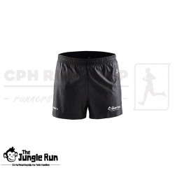 Craft Run Shorts Jr, sort - The Jungle Run