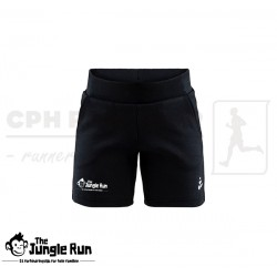 Craft District Shorts Jr, sort - The Jungle Run