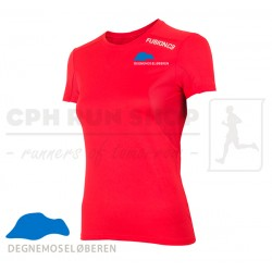Fusion C3 T-shirt Women, red - DegnemoseLøberen