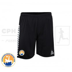 Select Argentina Player Shorts, black - Cph Beach Soccer Club