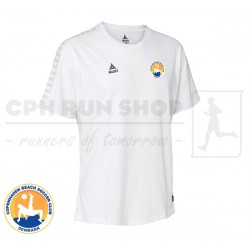 Select Torino T-shirt, white - Cph Beach Soccer Club