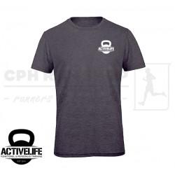 B&C Triblend T-shirt, Men - grå - Activelife.dk