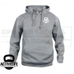 Clique Basic Hoody - grå - Activelife.dk