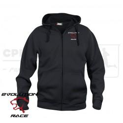 Clique Basic Hoody Full Zip, Men - Evolution Race