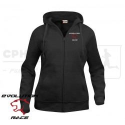 Clique Basic Hoody Full Zip, Women - Evolution Race