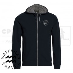 Clique Classic Hoody Fullzip, Men - Waterman Travel
