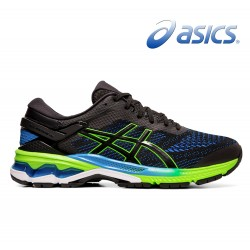 Asics Gel-Kayano 26 men black/electric blue