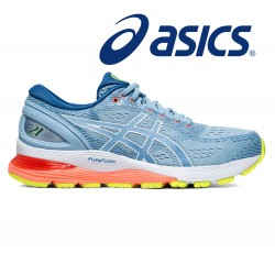 Asics Gel-Nimbus 21 Women heritage blue/lake drive