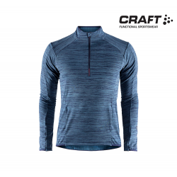 Craft Grid HalfZip Men maritime mei