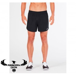 "BSR 4"" Run Short - Black - Reborn"