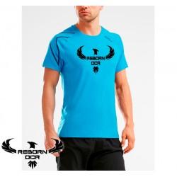 XCTRL Short Sleeve Tee - Signal Blue - Reborn