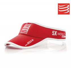 Compressport Visor, red