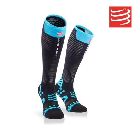 Compressport Full Socks Ultralight Racing, black