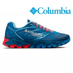 Columbia Trans Alps F.K.T. II Women deep ocean / red