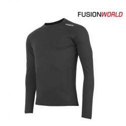 Fusion C3 Merino LS Men, black