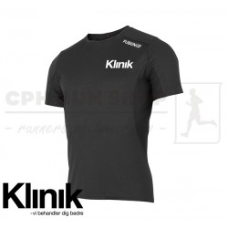Fusion C3 T-shirt Men, sort - Klinik