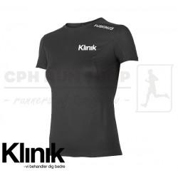 Fusion C3 T-shirt Women, sort - Klinik