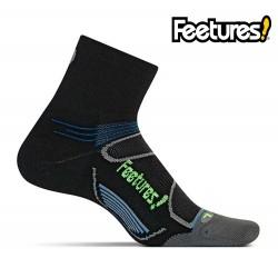 Feetures Elite iWick Light Cushion Quarter, black/reflector