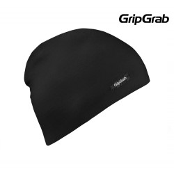 GripGrab Merino Polyfiber Lightweight Beanie, Black