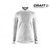 Craft Grid HalfZip Women Grey Meiange