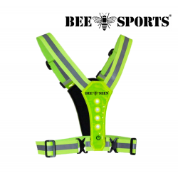 Bee Sport Led Harness USB, Lime