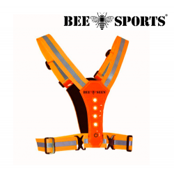 Bee sport Led Harness USB, Orange