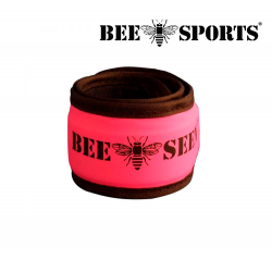 "Bee Sport ""Click"" Led Safety Band, Pink"