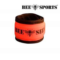 "Bee Sport ""Click"" Led Safety Band, Orange"