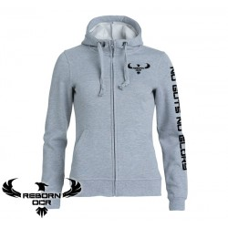 Clique Basic Hoody Full Zip, Women - Grey - Reborn