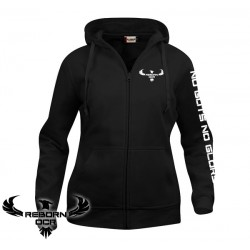 Clique Basic Hoody Full Zip, Women - Black - Reborn