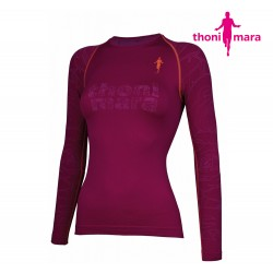 Thoni Mara Rose Uni LS-shirt Woman