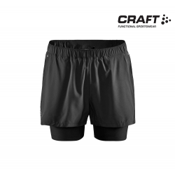 Craft ADV Essence 2-in-1 Stretch Shorts Men, black