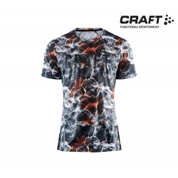 Craft Vent Mesh SS T-shirt Men, multi-black