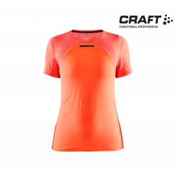 Craft Vent Mesh SS T-shirt Wmns, shock