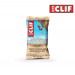 Clif bar, white chocolate macadamia nut