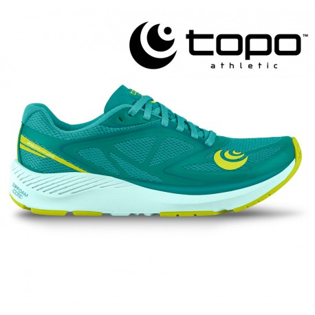 Topo Athletics Zephyr Womens, teal/lime