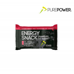 PurePower Energy bar, tranebær