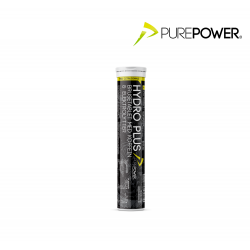 PurePower Electrolyte tabs, koffein citrus
