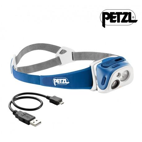 Petzl Tikka R+ Pandelampe, blue